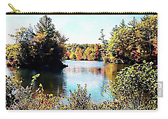 Carry-all Pouch featuring the photograph From Vermont With Love by Joseph Hendrix