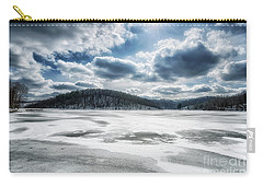 Frozen Lake Carry-all Pouch by Thomas R Fletcher