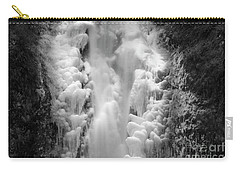 Frozen Multnomah Falls Carry-all Pouch