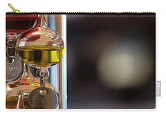 Carry-all Pouch featuring the photograph Galileo Thermometer by Jeremy Lavender Photography