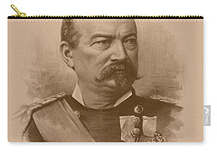 Carry-all Pouch featuring the drawing General Philip Sheridan by War Is Hell Store