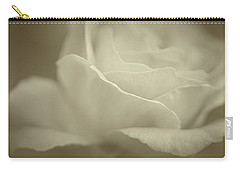 Carry-all Pouch featuring the photograph Gentle Rose by The Art Of Marilyn Ridoutt-Greene