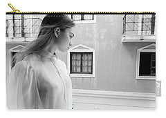 Girl In Profile Carry-all Pouch