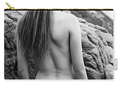 Girl On The Rocks Carry-all Pouch