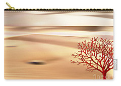 Carry-all Pouch featuring the digital art Global Warming by Klara Acel
