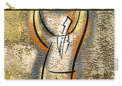 Carry-all Pouch featuring the painting Globalization  by Leon Zernitsky