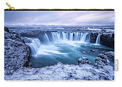 Godafoss Waterfall In Iceland Carry-all Pouch