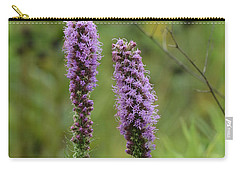 Carry-all Pouch featuring the photograph Godfrey's Blazing Star by Maria Urso