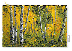 Golden Autumn Carry-all Pouch