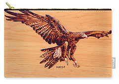 Golden Eagle Carry-all Pouch by Ron Haist