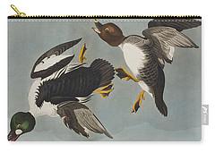 Golden-eye Duck  Carry-all Pouch by John James Audubon