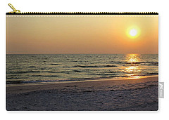 Golden Setting Sun Carry-all Pouch by Angela Rath