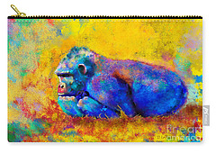 Gorilla Gorilla Carry-all Pouch by Betty LaRue