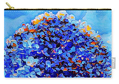 Got The Blues Carry-all Pouch by MaryLee Parker