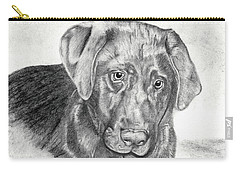 Carry-all Pouch featuring the drawing Gozar by Mayhem Mediums