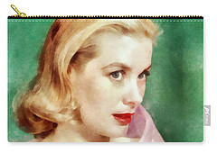 Grace Kelly By John Springfield Carry-all Pouch