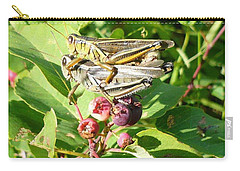 Grasshopper Love Carry-all Pouch