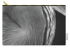 Great Blue Heron Eye Carry-all Pouch