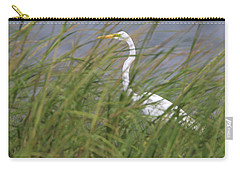 Great Egret Port Jefferson New York Carry-all Pouch