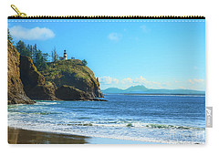 Carry-all Pouch featuring the photograph Great View by Robert Bales