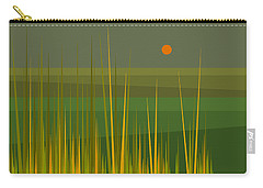 Green Fields Carry-all Pouch