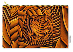 Carry-all Pouch featuring the digital art Groovy by Ron Bissett