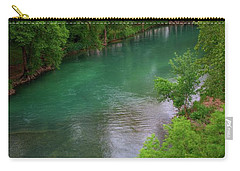 Guadeloupe River Carry-all Pouch by Kelly Wade