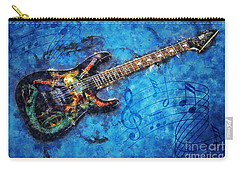 Guitar Love Carry-all Pouch by Ian Mitchell