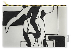Gymnast Carry-all Pouch by Erika Chamberlin