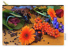 Halloween Decoration Carry-all Pouch by Tamara Sushko