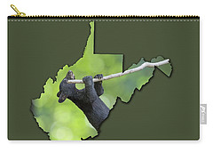 Carry-all Pouch featuring the photograph Hanging On by Dan Friend
