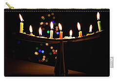 Carry-all Pouch featuring the photograph Happy Holidays by Susan Stone