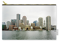 Carry-all Pouch featuring the photograph Harbor View by Greg Fortier