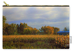 Carry-all Pouch featuring the photograph Harvest by Elfriede Fulda