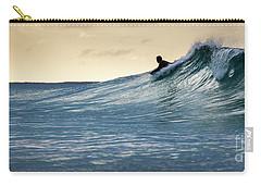 Hawaii Bodysurfing Sunset Polihali Beach Kauai  Carry-all Pouch