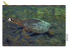 Hawaiian Sea Turtle Carry-all Pouch