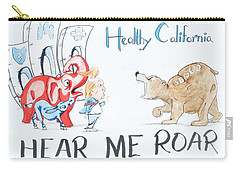 Hear Me Roar Carry-all Pouch