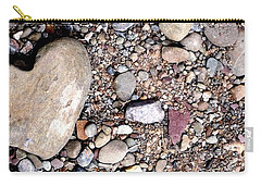 Carry-all Pouch featuring the photograph Heart Of Stone by Danielle R T Haney