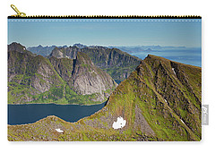 Helvete And Kirkefjord From Munken Carry-all Pouch by Aivar Mikko