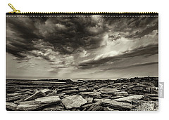 Here Comes The Storm 06 Carry-all Pouch by Arik Baltinester