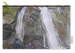 High Shoals Falls Carry-all Pouch by Joel Deutsch