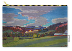 Hills Of Upstate New York Carry-all Pouch