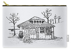 Hole In The Wall Books Carry-all Pouch by Victoria Lakes