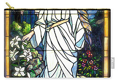 Carry-all Pouch featuring the photograph Holy Angel by The Art of Alice Terrill