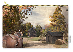 Homeward Bound Carry-all Pouch by Robin-Lee Vieira