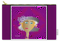 Carry-all Pouch featuring the digital art Honey by Iris Gelbart