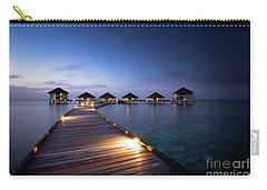 Carry-all Pouch featuring the photograph Honeymooners Paradise by Hannes Cmarits
