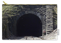 Hoosiac Train Tunnel Carry-all Pouch by Catherine Gagne