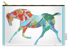Horse Of Color Carry-all Pouch