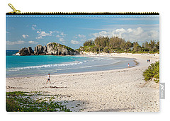 Horseshoe Bay In Bermuda Carry-all Pouch